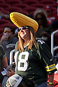 August 26 2016: Packers Fan during the Green Bay Packers during a 21-10 victory over the San Francisco 49ers at Levi's Stadium in Santa Clara, Ca.