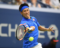FLUSHING NY- SEPTEMBER 07: Andy Murray Vs Kei Nishikori on Arthur Ashe Stadium at the USTA Billie Jean King National Tennis Center on September 7, 2016 in Flushing Queens. Credit: mpi04/MediaPunch