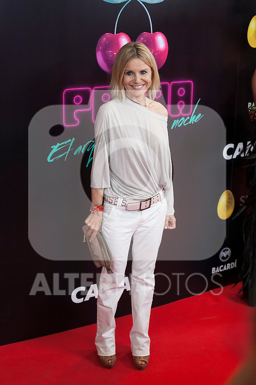 Eugenia Martinez de Irujo poses during Pacha `El arquitecto de la noche´ film premiere in Madrid, Spain. May 25, 2015. (ALTERPHOTOS/Victor Blanco)