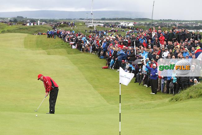 Jose Maria Olazabal (ESP) on the 4th on Day 2 of the 2012 Irish Open at Royal Portrush Golf Club, Portrush, Co.Antrim, 29/6/12...(Photo Jenny Matthews/www.golffile.ie)