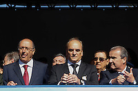 SAO PAULO, SP, 09.07.2016 - REVOLUÇÃO1932- Governador Geraldo Alckmin durante Desfile em comemoração à Revolução Constitucionalista de 1932 na região do Parque do Ibirapuera em São Paulo, neste sábado, 09.  (Foto: Darcio Nunciatelli/Brazil Photo Press)