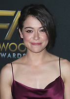 BEVERLY HILLS - NOVEMBER 5:  Tatiana Maslany at the 2017 Hollywood Film Awards at the Beverly Hilton on November 5, 2017 in Beverly Hills, California. (Photo by Scott Kirkland/PictureGroup)