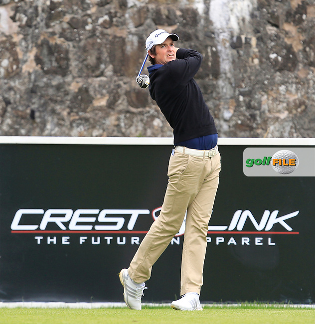 Niall Turner (IRL) on the 3rd tee during Round 3 of the Northern Ireland Open in Association with Sphere Global &amp; Ulster Bank at Galgorm Castle Golf Club on Saturday 8th August 2015.<br /> Picture:  Thos Caffrey / www.golffile.ie