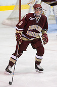 Philip Samuelsson (BC - 5) - The Merrimack College Warriors defeated the Boston College Eagles 5-3 on Sunday, November 1, 2009, at Lawler Arena in North Andover, Massachusetts splitting the weekend series.