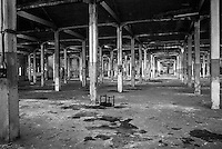Archeologia industriale - Stabilimento Venchi Unica a Torino prima della distruzione.
