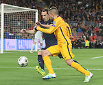 05.04.2016 Barcelona. Uefa Champions League Quarter-finals 1st leg. Game between FC Barcelona agaisnt Atletico de Madrid at Camp Nou. Picture show Jordi Alba