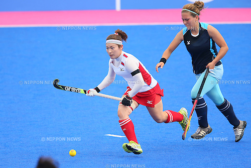Hazuki Nagai (JPN), <br /> SEPTEMBER 26, 2014 - Hockey : <br /> Women's Preliminary <br /> between Kazakhstan Women's 0-8 Japan Women's <br /> at Seonhak Hockey Stadium <br /> during the 2014 Incheon Asian Games in Incheon, South Korea. <br /> (Photo by YUTAKA/AFLO SPORT)