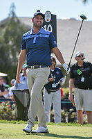 Marc Leishman (AUS) watches his tee shot on 10 during round 1 of the Arnold Palmer Invitational at Bay Hill Golf Club, Bay Hill, Florida. 3/7/2019.<br /> Picture: Golffile | Ken Murray<br /> <br /> <br /> All photo usage must carry mandatory copyright credit (&copy; Golffile | Ken Murray)
