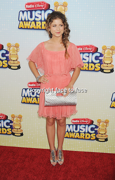 Actress Sofia Reyes arriving at the 2013 Radio Disney Music Awards at Nokia Theatre L.A. Live on April 27, 2013 in Los Angeles, California., ..Credit: Mayer/face to face - No Rights for USA and Canada -