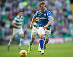 Celtic v St Johnstone...29.08.15  SPFL   Celtic Park<br /> Chris Millar<br /> Picture by Graeme Hart.<br /> Copyright Perthshire Picture Agency<br /> Tel: 01738 623350  Mobile: 07990 594431