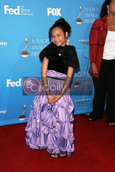 Gabby Soleil<br />at the 37th Annual NAACP Image Awards. Shrine Auditorium, Los Angeles, CA. 02-25-06<br />Scott Kirkland/DailyCeleb.Com 818-249-4998