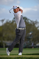 Sungjae Im (KOR) watches his tee shot on 14 during round 3 of the Arnold Palmer Invitational at Bay Hill Golf Club, Bay Hill, Florida. 3/9/2019.<br /> Picture: Golffile | Ken Murray<br /> <br /> <br /> All photo usage must carry mandatory copyright credit (&copy; Golffile | Ken Murray)