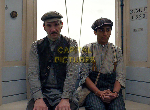 Ralph Fiennes, Tony Revolori<br /> in The Grand Budapest Hotel (2014) <br /> *Filmstill - Editorial Use Only*<br /> CAP/FB<br /> Image supplied by Capital Pictures
