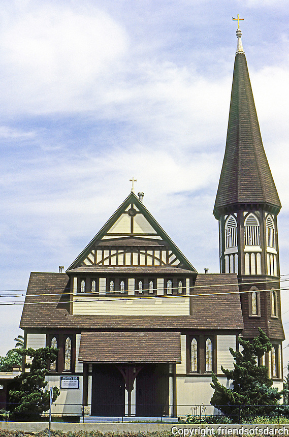 St. Matthew's Episcopal Church, National City, 1887. Photo 2000.