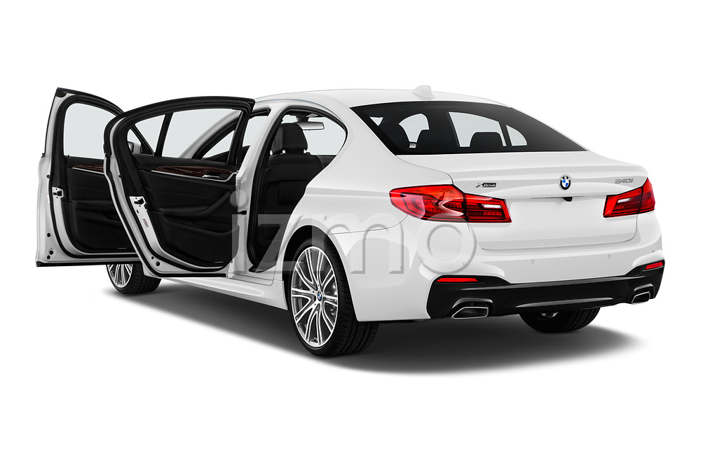Car images of 2019 BMW 5-Series M-Sport 4 Door Sedan Doors
