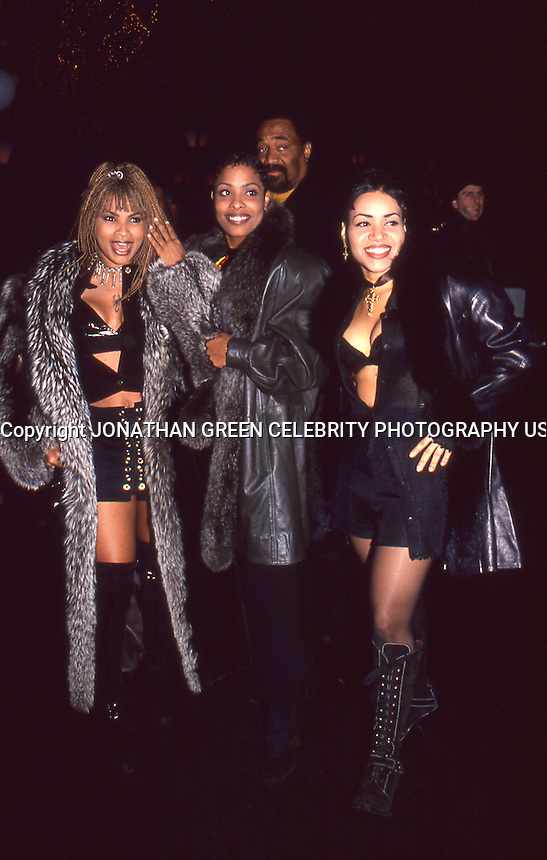 Salt N Pepa 1994 NYC Arriving At Bobby Brown Birthday Party Tavern On The Green,<br />