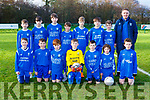 The  Killarney Athletic team that played St Brendans Park in the u12 league in Killarney on Saturday