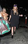 www.AbilityFilms.com.805-427-3519.AbilityFilms@yahoo.com...1-7-09.Mischa Barton leaving a club called Bardot in Hollywood ca. Wearing a black dress and crazy eye makeup