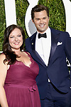NEW YORK, NY - JUNE 11:  Zuzanna Szadkowski and Andrew Rannells attend the 71st Annual Tony Awards at Radio City Music Hall on June 11, 2017 in New York City.  (Photo by Walter McBride/WireImage)