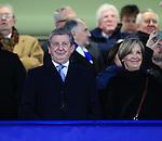England manager Roy Hodgson looks on <br /> <br /> - UEFA Champions League - Chelsea vs Paris Saint Germain - Stamford Bridge - London - England - 9th March 2016 - Pic David Klein/Sportimage