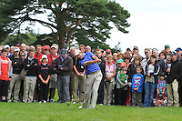 Padraig Harrington (IRL) plays his 2nd shot from the rough on the 12th hole during Day 1 Thursday of The Irish Open presented by Discover Ireland at Killarney Golf & Fishing Club on 28th July 2011 (Photo Jenny Matthews/www.golffile.ie)