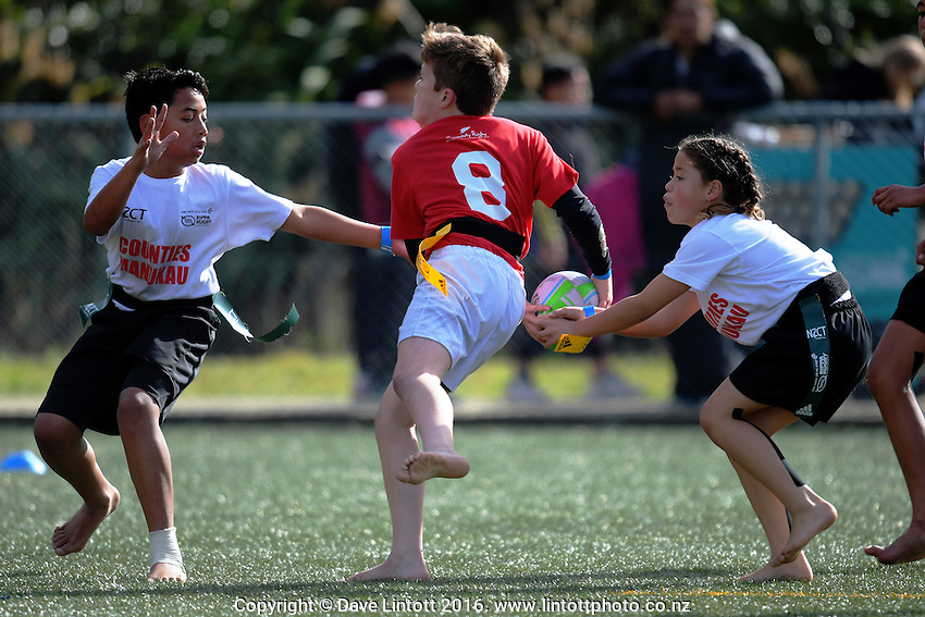 Counties Manukau v Poverty Bay. Day two of the 2016 Air NZ Rippa Rugby Championship at Wakefield Park, Wellington, New Zealand on Tuesday, 23 August 2016. Photo: Dave Lintott / lintottphoto.co.nz