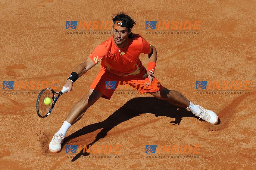 Fabio Fognini of Italy.Roma 14/05/2012 Foro Italico.Tennis Internazionali d'Italia.Foto Insidefoto Antonietta Baldassarre