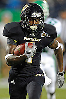 1 September 2011:  FIU's T.Y. HIlton (4) runs for the end zone in the first half as the FIU Golden Panthers defeated the University of North Texas, 41-16, at University Park Stadium in Miami, Florida.