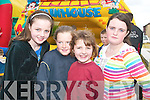FUN AFTERNOON: Younger members of the Mitchel's community enjoyed the fun street party on friday afternoon. From l-r were: Chloe Quilligan, Charlotte McDonagh, Natasha O'Brien and Joanne Quilligan.   Copyright Kerry's Eye 2008