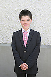 Matthew Leech at the Walshestown NS Communion in St.Pauls Church...Photo NEWSFILE/Jenny Matthews.(Photo credit should read Jenny Matthews/NEWSFILE)....This Picture has been sent you under the condtions enclosed by:.Newsfile Ltd..The Studio,.Millmount Abbey,.Drogheda,.Co Meath..Ireland..Tel: +353(0)41-9871240.Fax: +353(0)41-9871260.GSM: +353(0)86-2500958.email: pictures@newsfile.ie.www.newsfile.ie.FTP: 193.120.102.198.