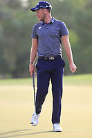 Danny Willett (ENG) on the 15th green during the 2nd round of the DP World Tour Championship, Jumeirah Golf Estates, Dubai, United Arab Emirates. 16/11/2018<br /> Picture: Golffile | Fran Caffrey<br /> <br /> <br /> All photo usage must carry mandatory copyright credit (© Golffile | Fran Caffrey)