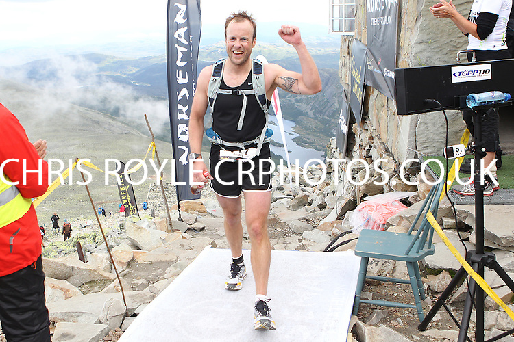 Race number 111 - Anders Storeng -  Sunday Norseman Xtreme Tri 2012 - Norway - photo by chris royle / boxingheaven@gmail.com