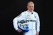 22nd March 2018, Melbourne Grand Prix Circuit, Melbourne, Australia; Melbourne Formula One Grand Prix, Arrivals and Press Conference; Mercedes AMG Petronas Motorsport AMG F1 team, Valtteri Bottas