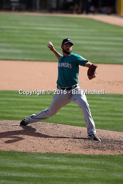 Donn Roach - Seattle Mariners 2016 spring training (Bill Mitchell)