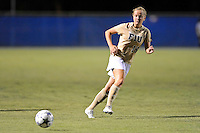 21 August 2011:  FIU's Nicole DiPerna (16) passes the ball in the second half as the University of Florida Gators defeated the FIU Golden Panthers, 2-0, at University Park Stadium in Miami, Florida.