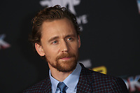 HOLLYWOOD, CA - OCTOBER 10: Tom Hiddleston at the world premier of Marvel Studios&rsquo; Thor: Ragnarok  in Hollywood, California on October 10, 2017. <br /> CAP/MPIFS<br /> &copy;MPIFS/Capital Pictures