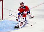 14 December 2009: Montreal Canadiens' goaltender Jaroslav Halak gives up a second period goal to the Buffalo Sabres at the Bell Centre in Montreal, Quebec, Canada. The Sabres defeated the Canadiens 4-3. Mandatory Credit: Ed Wolfstein Photo