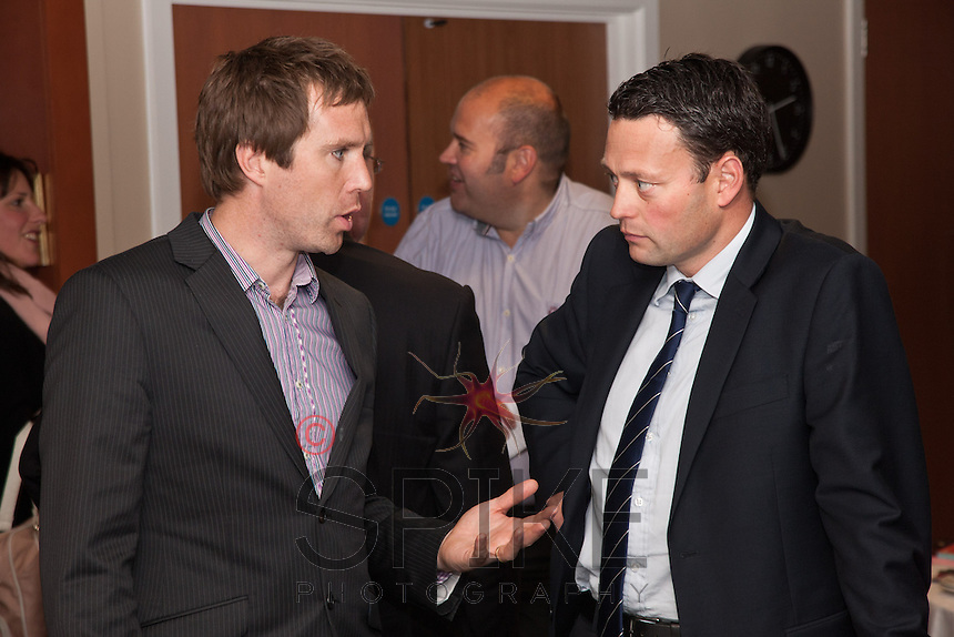 Nick McDonald of Nottingham City Council and Ben Tebbutt of FHP Property Consultants