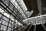 Interior  at the National Museum of African American History & Culture on January 15, 2017 in Washington,D.C..