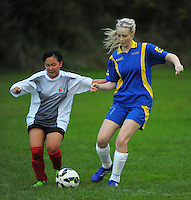 150513 College Football - Bishop Viard v Tawa Girls Northern Div 2
