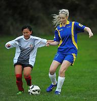 150513 College Football - Bishop Viard v Tawa Girls Northern Div 2