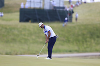 Scott Piercy (USA) putts on the 3rd green during Friday's Round 2 of the 117th U.S. Open Championship 2017 held at Erin Hills, Erin, Wisconsin, USA. 16th June 2017.<br /> Picture: Eoin Clarke | Golffile<br /> <br /> <br /> All photos usage must carry mandatory copyright credit (&copy; Golffile | Eoin Clarke)
