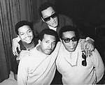 Four Tops 1966 Renaldo Obie Benson , Levi Stubbs, Abdul Duke Fakir (back) and Lawrence Payton....