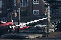 Putney, London,  Tideway Week, Championship Course. River Thames,  Boating fro Auriol Kensington BC. Hammersmith.<br /> <br /> Tuesday  28/03/2017<br /> [Mandatory Credit; Credit: Peter Spurrier/Intersport Images.com ]<br />  <br /> <br /> NIKON CORPORATION - NIKON D500 - 1/1600 - f8  25.1MB MB