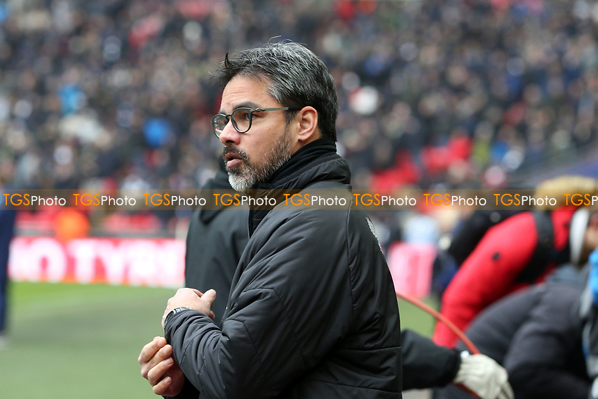 Huddersfield Town manager David Wagner during Tottenham Hotspur vs Huddersfield Town, Premier League Football at Wembley Stadium on 3rd March 2018