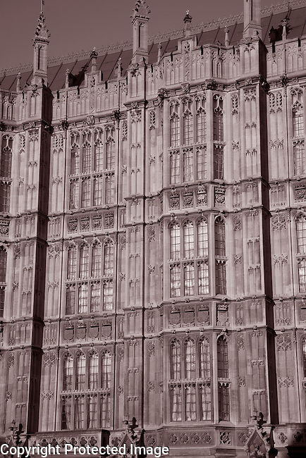 Houses of Parliament at Westminster, London
