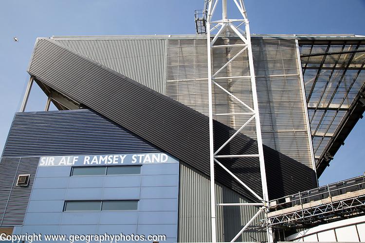 Ipswich Town Football Club ground stadium,  Portman Road, Ipswich, Suffolk, England, UK