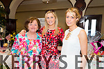 Pictured at the Gather by the Feale Womens Pampering Event 2015 on Sunday were L-R: Hannah May Collins, Athea, Carol Collins Woulfe, Abbeyfeale, Aine O'Sullivan, Abbeyfeale.