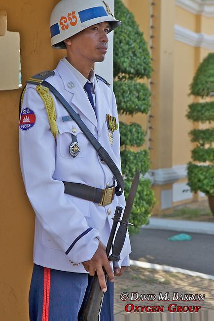 Guard At The Royal Palace