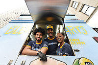 """NEW YORK - SEPTEMBER 25: FOX ANIMATION DOMINATION - The FOX """"Bless the Harts"""" food truck served North Carolina-inspired food handed out gifts to guests at Rockefeller Plaza in New York City on September 25, 2019. (Photo by Anthony Behar/Fox/PictureGroup)"""